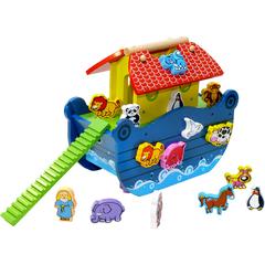 ToysLab Деревянный сортер «Ноев ковчег» (71019)