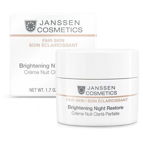Осветляющий ночной крем ,Janssen Cosmetics,150 мл