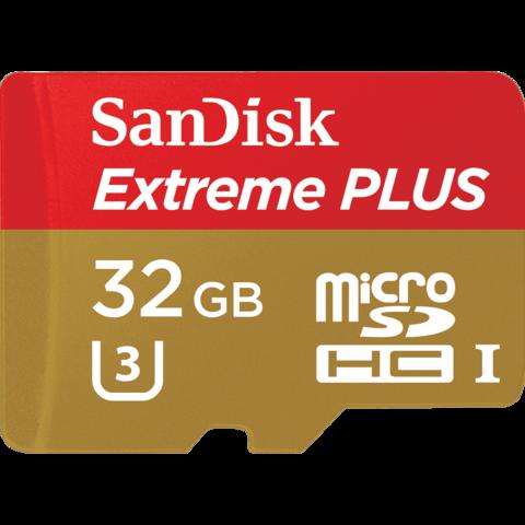 Карта памяти SanDisk MicroSDXC Extreme 32GB Class 10 UHS 95MB/s