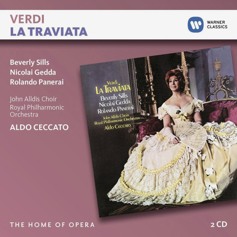 Aldo Ceccato / Verdi: La Traviata (2CD)