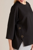 Блузка 09793 черный