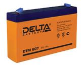 Аккумулятор Delta DTM 607 ( 6V 7Ah / 6В 7Ач ) - фотография