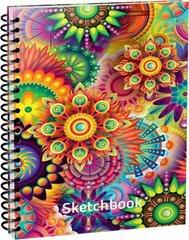 Скетчбук Цветные миры