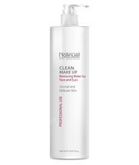 Молочко для удаления макияжа с лица и глаз (Natinuel   Clean Make Up), 500 мл