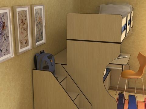 Кровать Дуэт 4