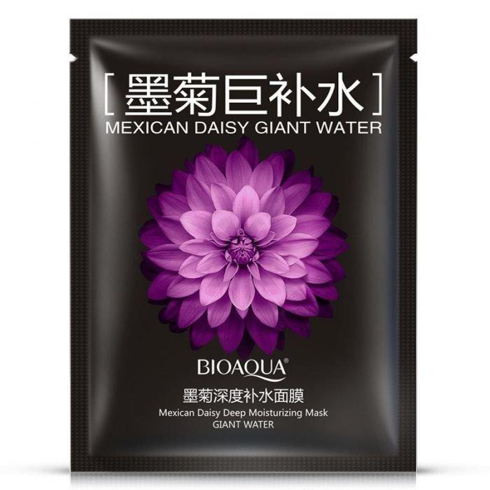 Bioaqua Маска для лица с хризантемой Mexican Daisy Deep Moisturising Mask