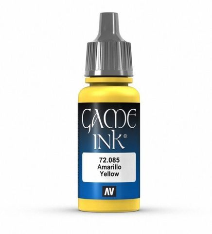 Ink Yellow Ink 17 ml.