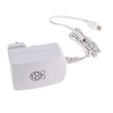 Блок питания для Raspberry Pi 3 В, белый