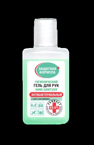 Фитокосметик Гигиенический гель для рук с алоэ и витамином Е серии 30 мл