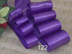 Лента атласная шириной 5см фиолетовая - 122