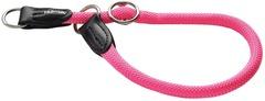 Ошейник-удавка для собак Hunter Freestyle Neon 55/10 нейлоновая розовый неон