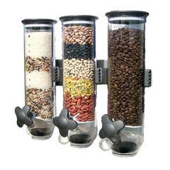 Диспенсер для сыпучих продуктов Triple Cereral Dispenser