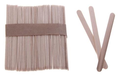 4267 Деревянные палочки, 50шт.- 11,5 см, неокрашенные