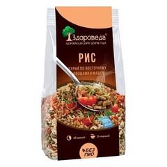 Здороведа рис бурый с машем и овощами по восточному 250 г