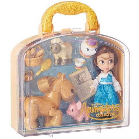 Дисней Аниматор Красавица и Чудовище  набор с мини-куклой Белль 13 см
