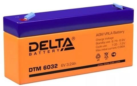 Аккумуляторная батарея DTM 6032