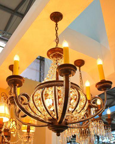 vintage chandelier 03-11 ( by Funky Vintage )