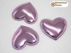 Мягкие сердечки розовые