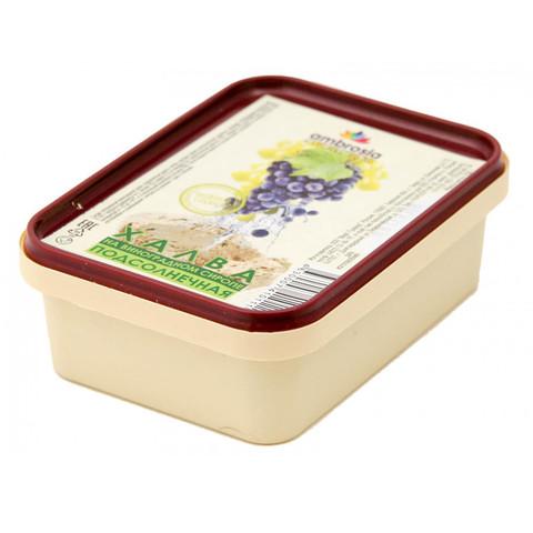 Амброзия халва подсолнечная на виноградном сиропе 250г