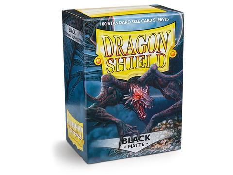 Протекторы Dragon Shield матовые Black (100 шт.)