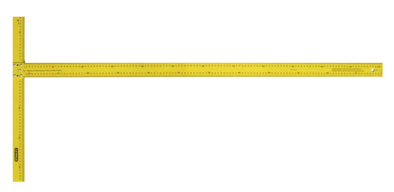 Угольник Т-образный 122см  для раскроя гипсокартонных плит  Stanley 1-05-894