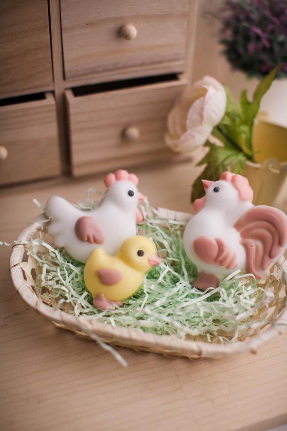 Мыло Цыпленок. Форма для мыла