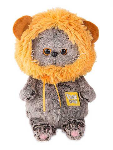 Кот Басик Baby в шапке-лев