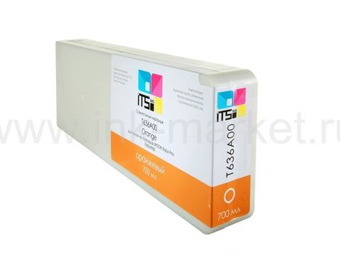 Совместимый картридж ITSinks Optima для Epson Stylus Pro 7900/9900 Orange 700 ml Pigment (C13T636A00)