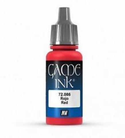 Ink Red Ink 17 ml.