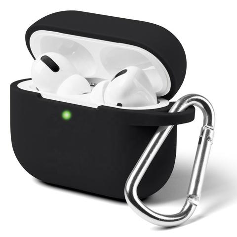 Силиконовый чехол для Apple AirPods Pro (Черный) Black