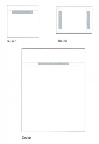 Пододеяльник 155х200 Christian Fischbacher Luxury Nights Alpaufzug 566