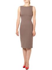 P157-67 платье женское, коричневое