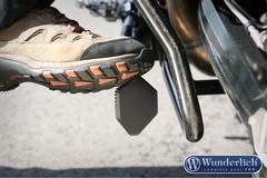 Расширитель подножки для заниженной подвески BMW R1200GS черный
