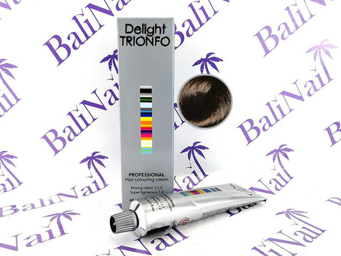 CONSTANT DELIGHT TRIONFO 4-0 стойкая крем-краска для волос Средний коричневый натуральный, 60 мл