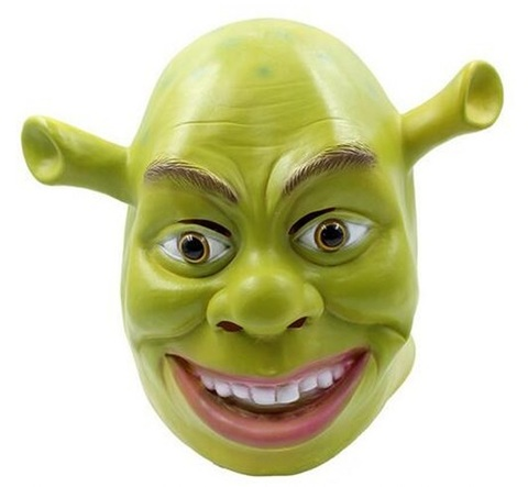 Шрек маска латексная — Shrek