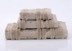 Bamboo CL-4  розовое бамбуковое махровое  полотенце Valtery