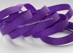 Лента репсовая пурпурная ширина от 6 до 38 мм