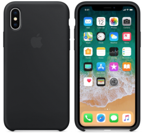 iPhone X/XS Silicone Case Черный