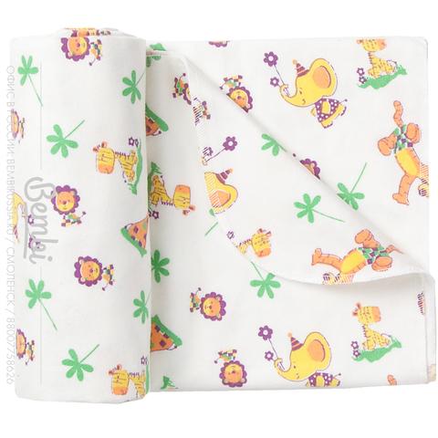 ПЕ1 Пеленка детская ситцевая (в упаковке 2 шт., цена за 1 шт.) Упаковка не разбивается!