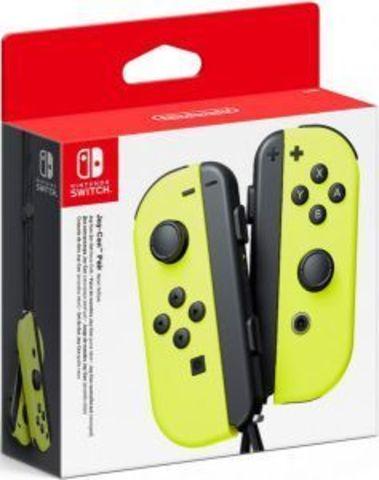 NS: Набор контроллеров Joy-Con (неоновые желтые)