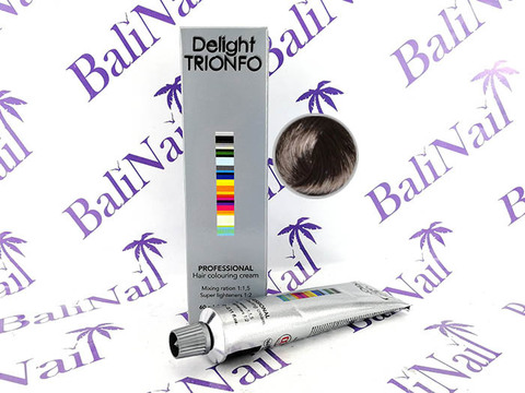 CONSTANT DELIGHT TRIONFO 4-2 стойкая крем-краска для волос Средний коричневый пепельный, 60 мл