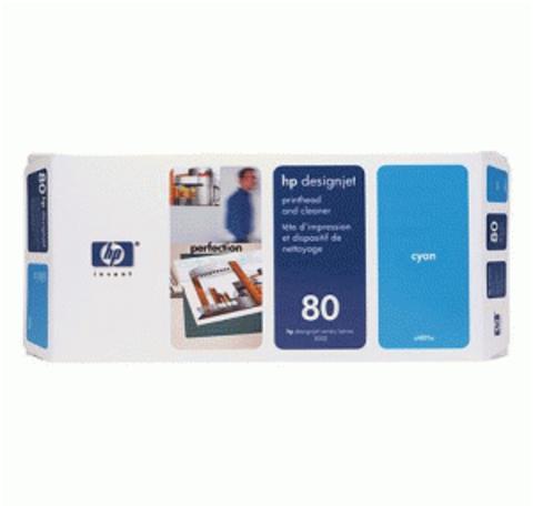 печатающая головка HP 80 Cyan