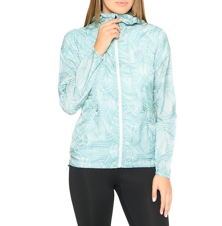 Женская ветровка для бега Asics Fuzex Packable Jacket 129981 1037 фото