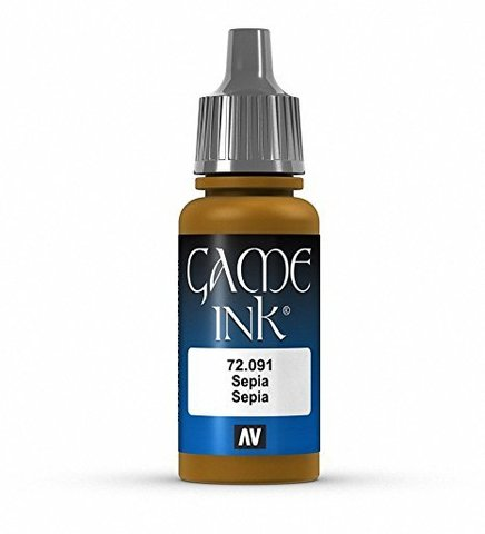 Ink Sepia Ink 17 ml.