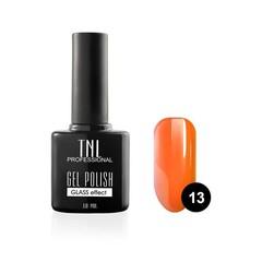 "TNL, Гель-лак ""Зеркальный блеск"" № 13 - мерцающий оранжевый (10 мл)"