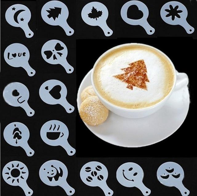 Товары для кухни Трафареты для украшения кофе и выпечки Трафарет.jpg