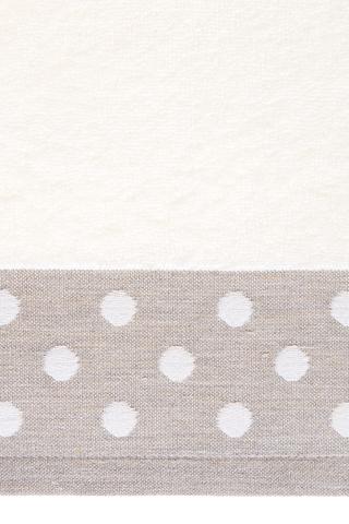 Полотенце 50х100 Luxberry Pretty Dots натуральное