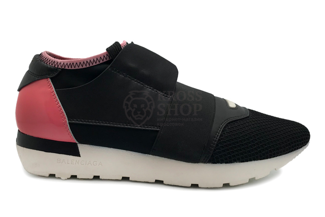 Balenciaga Women's Race Runner Black/Pink