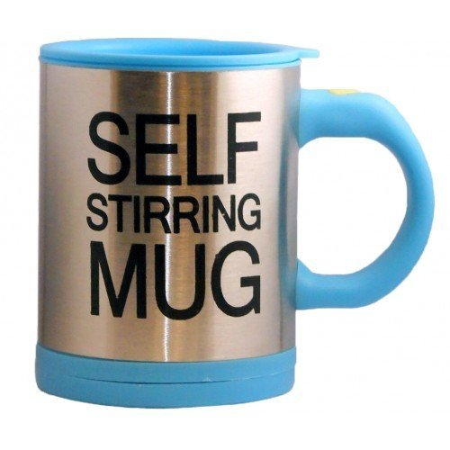 Голубой вариант Self Stirring Mug