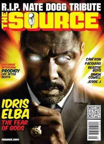 Журнал The Source май 2011 обложка